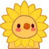 :chick_sunflower_costume:
